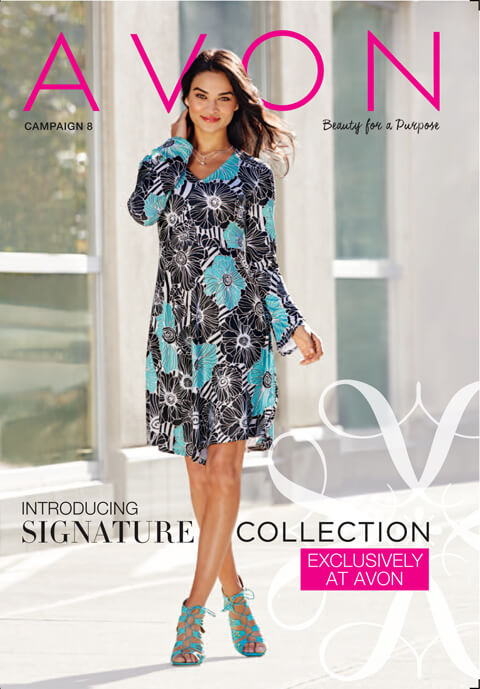 Upcoming Avon Cover Look Featuring the Lace Up Sandals