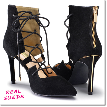 mark. lace odyssey heels