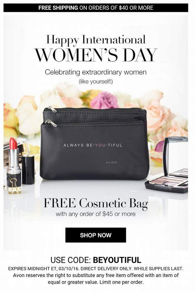 FREE Gift at http://www.youravon.com/aliciahessinger