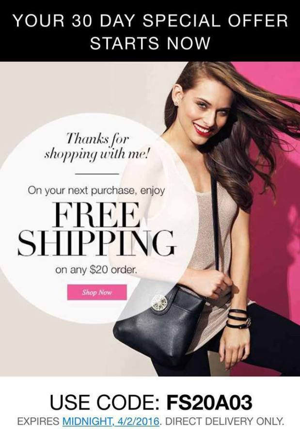 FREE SHIPPING at http://www.youravon.com/aliciahessinger