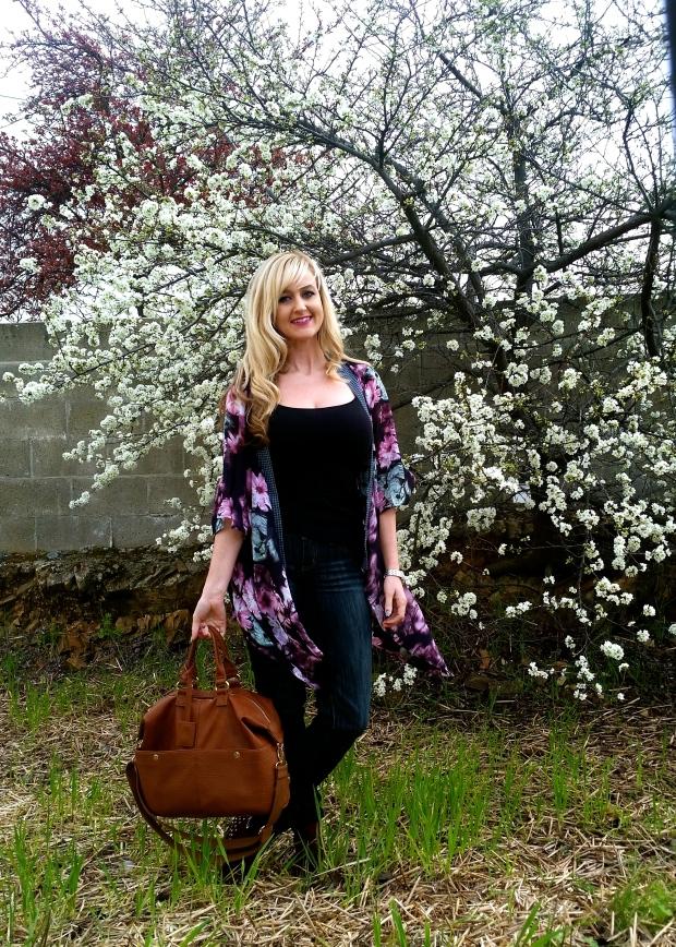 A Floral Kimono For Spring!
