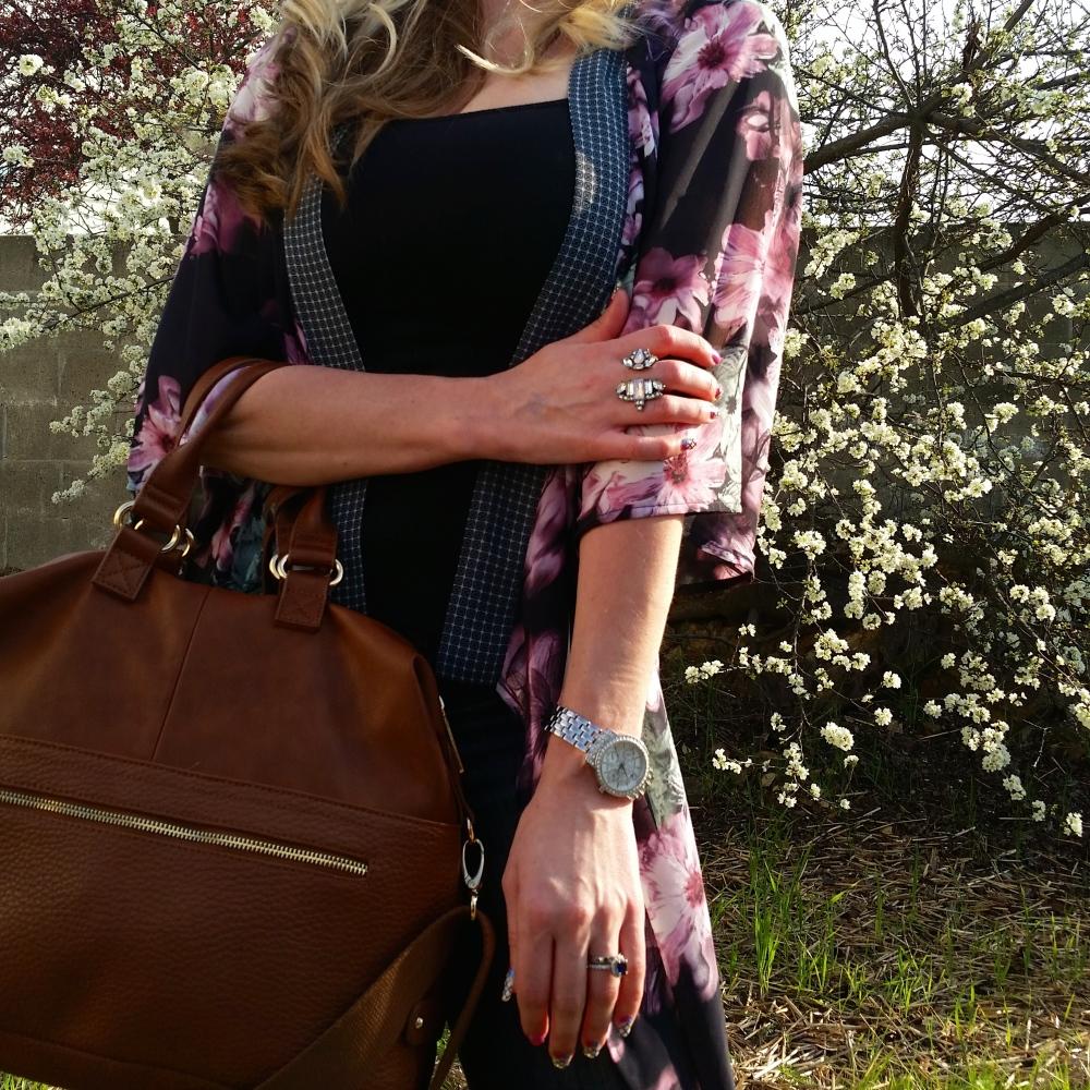 mark. Carry All Handbag and Go For Baroque Ring