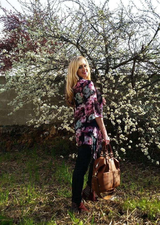 Spring Style: Dark Florals