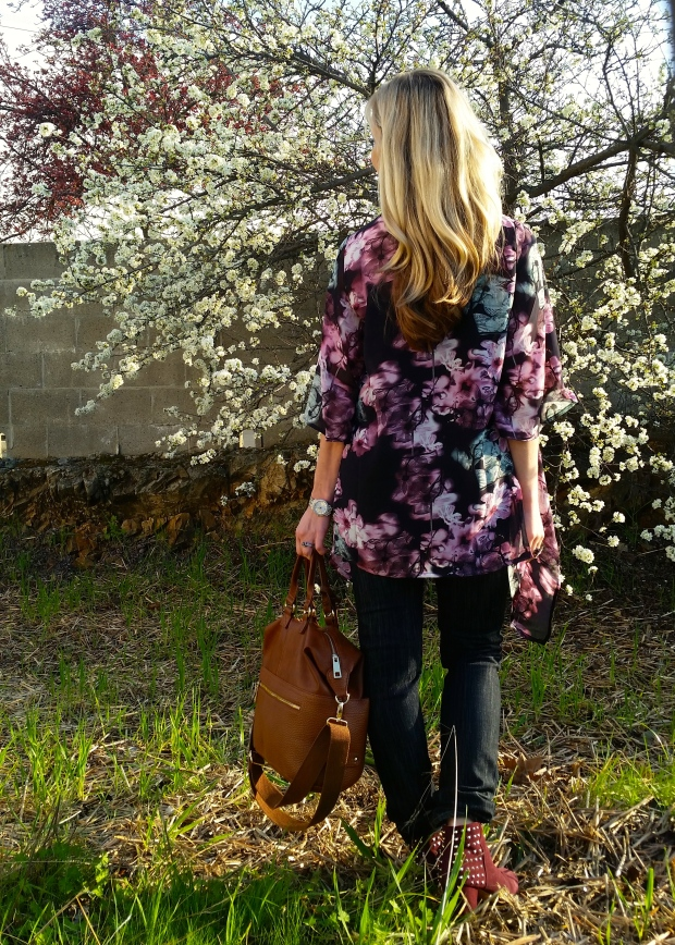 Dark Florals For Transitioning Into Spring