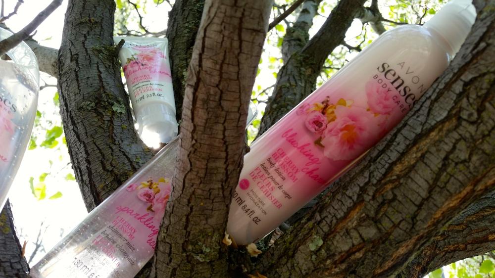 Avon Senses Body Lotion in Cherry Blossom