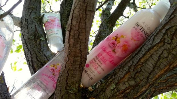 Avon Senses Body Lotion in Cherry Blossom