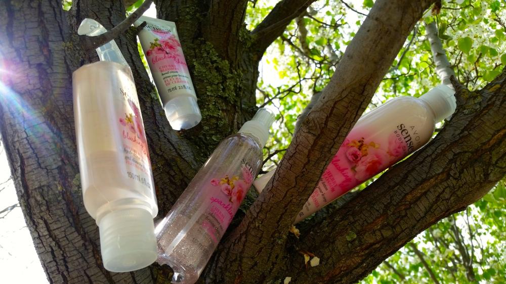 Avon Senses Cherry Blossom Collection