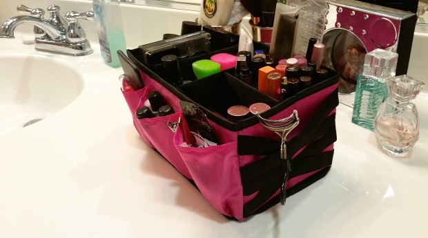 Under TAdjustable Compartmentshe Sink Makeup Storage