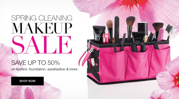 Makeup Spring Cleaning with Avon Beauty Caddy