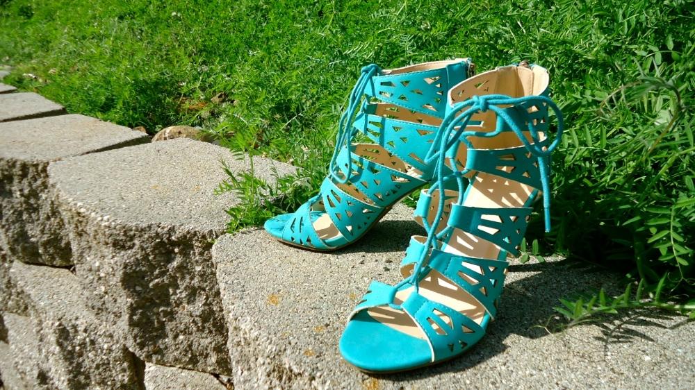 New Kicks For Easter: Avon Lace Up Sandal