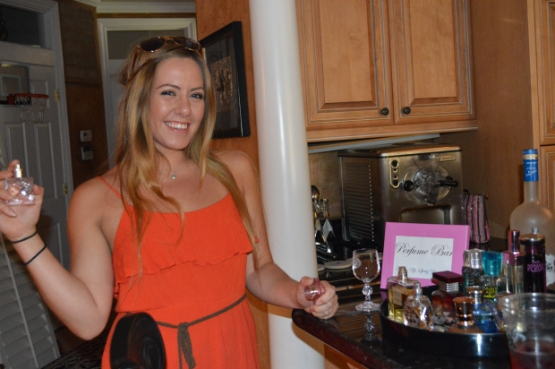 Perfume Bar From My Bridal Shower :)
