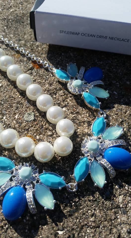 Avon Style Swap Ocean Avenue Necklace