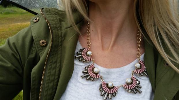 mark. Clear Choice Necklace
