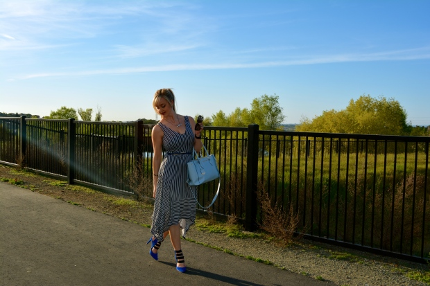 Going Graphic: mark. Change Your Stripes Dress