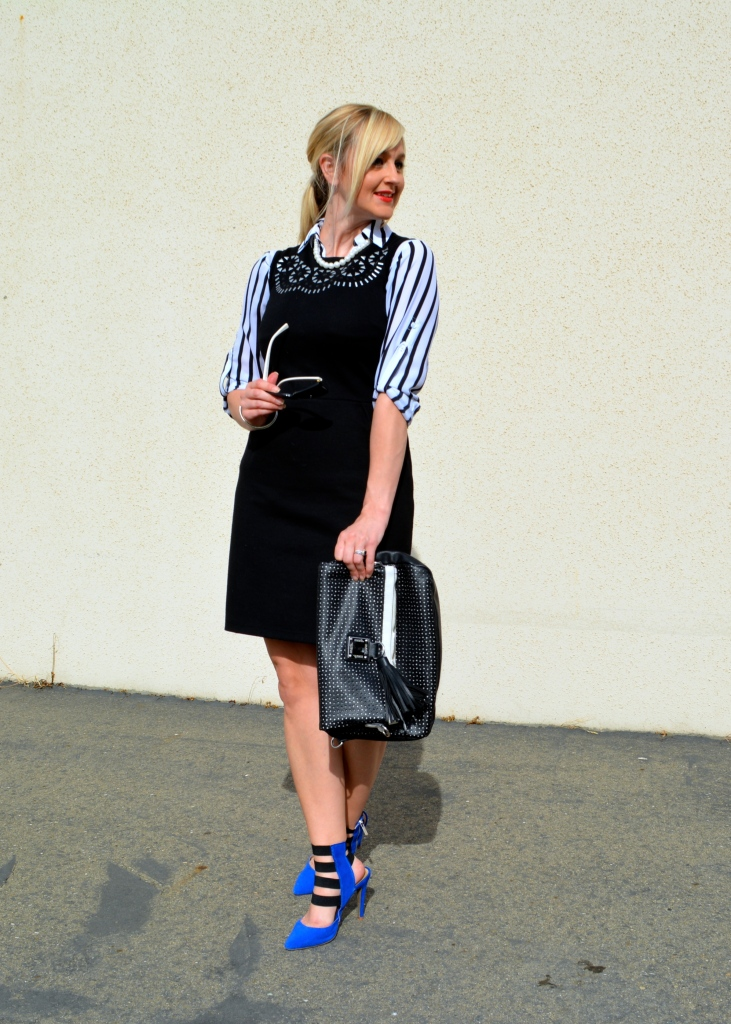 Spring Re-Vamp With A Convertible Sleeve Blouse