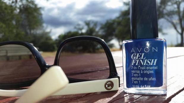 Avon Gel Finish in Sapphired Up