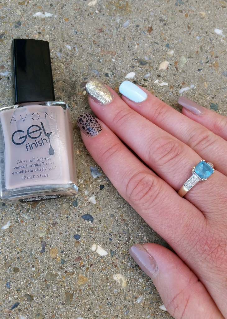 Avon Gel Finish in Barely There
