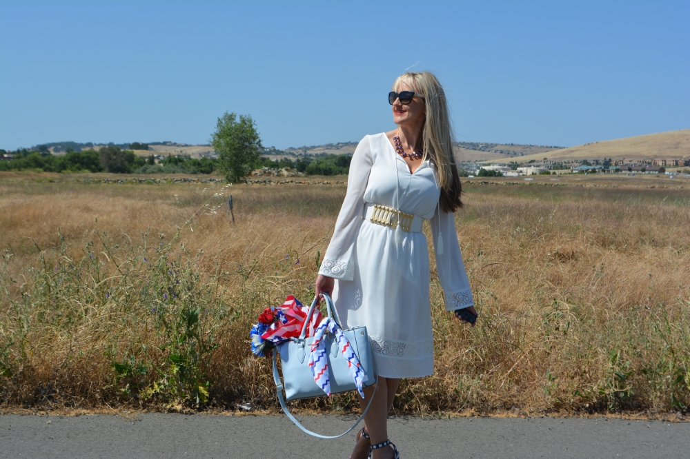 Red White and Blue Boho