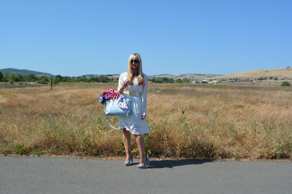 Avon Little White Dress