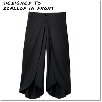 mark. Fit To Be Wide Culottes -- black pants cool for summer