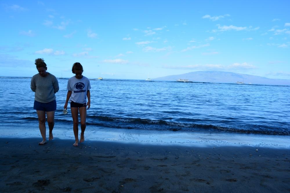 Morning Beach Walks In Maui