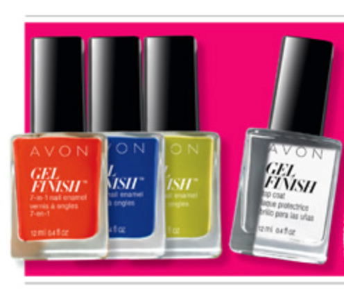 Avon NEW Gel Finish in Nautical Shades