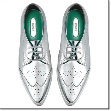 mark. Silver Streak Sneaks - metallic and a statement shoe!