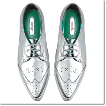 mark. Silver Streak Sneaks - metallic and a statement shoe!