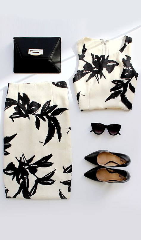 Black And White Tropical Prints