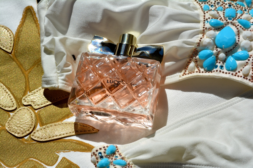 It's as luxe as it's quilted bottle would suggest!