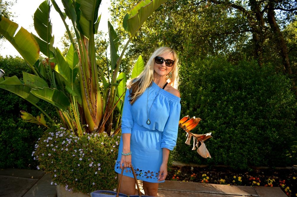 Your Go-To Summer Dress - mark. Warm Shoulder Dress