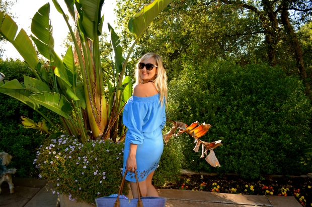 What To Wear In Maui - Off The Shoulder Dress