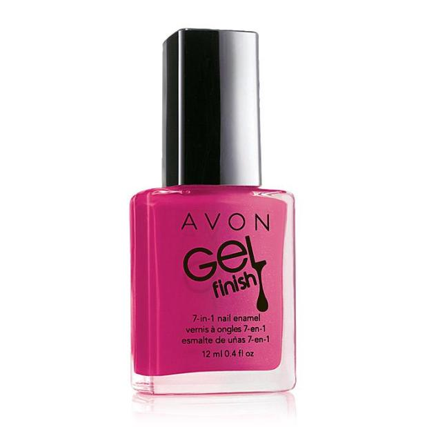 Avon Gel Finish in Parfait Pink