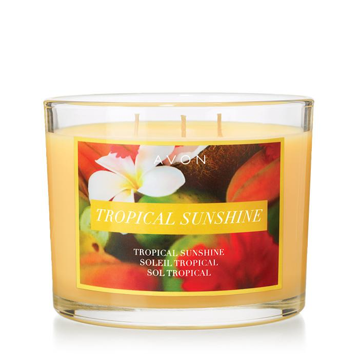 Tropical Scents (Avon's Tripple Wick in Tropical Sunshine)