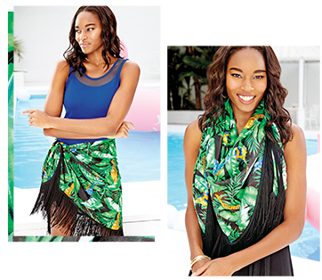 Avon Multi-Way Printed Sarong