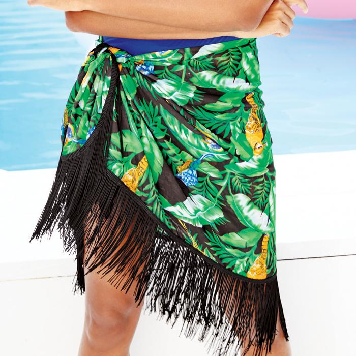 Fringe Trend On The Avon Multi-Way Printed Sarong