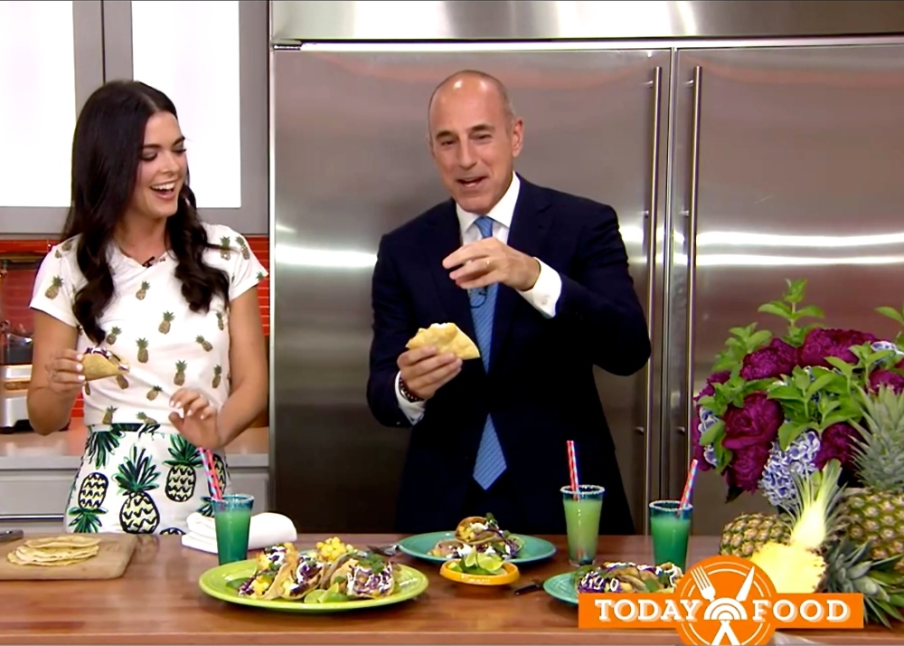 Katie Lee on The Today Show