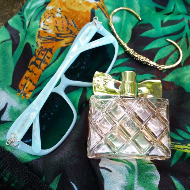 Tiffany & Co. Polarized Sunglasses to throw on and go! ...and maybe with a little Avon Luck La Vie