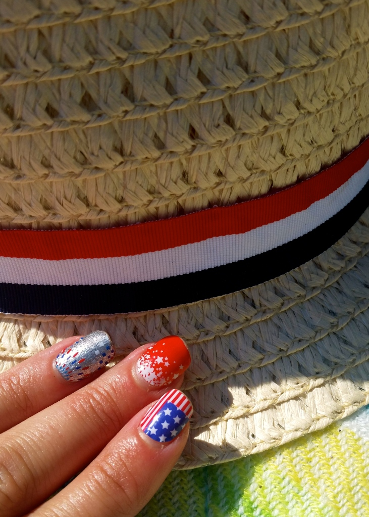 Jamberry Kaboom, Red White and Boom and Star Spangled