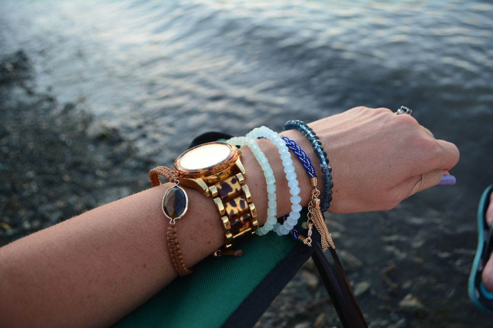 Just add your favorite watch for an instant arm party
