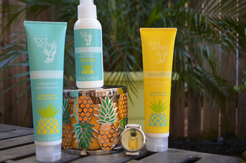 Avon Footworks Pineapple Chill