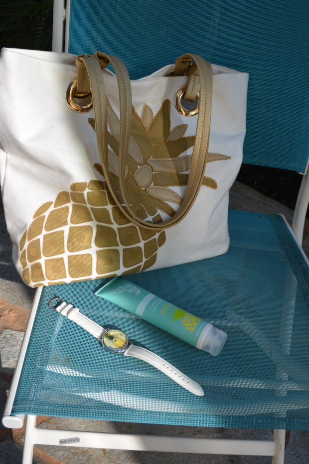Pineapple Tote and Pineapple Watch EACH NOW ONLY $8.99