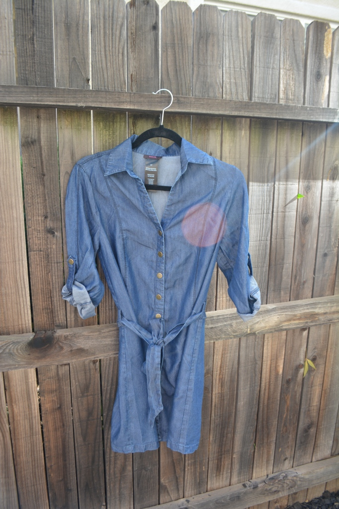 Denim Blues with mark. Make Way For Chambray Dress