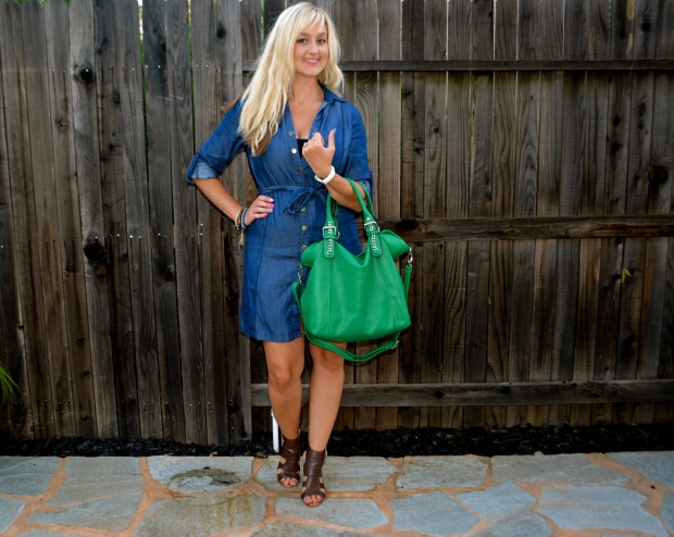 Throw and Go Must Have: mark. Make Way For Chambray Dress