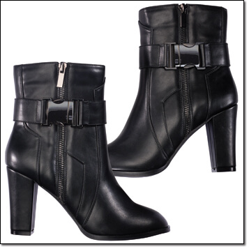 mark. right instep ankle boot