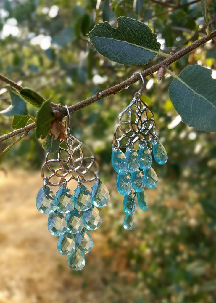 Fall Into Color Chandelier Earrings