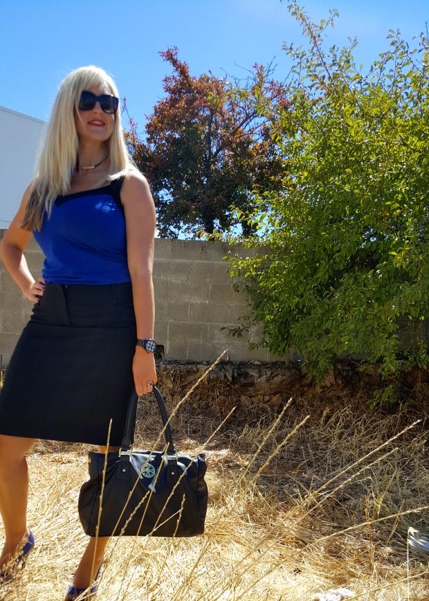 Tank and Pencil Skirt Combo