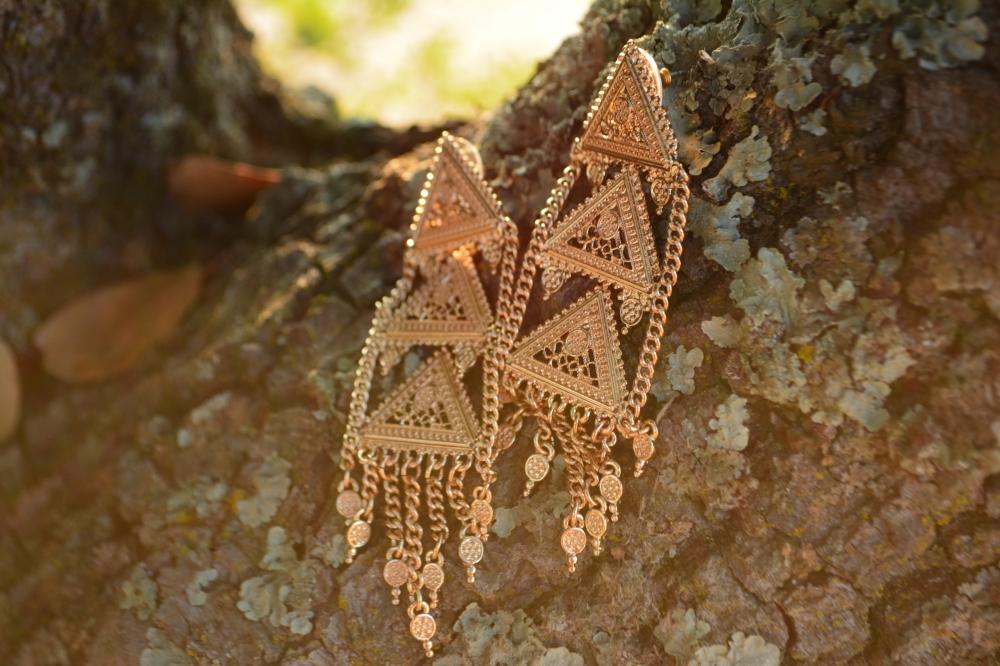 mark. Golden Dynasty Earrings