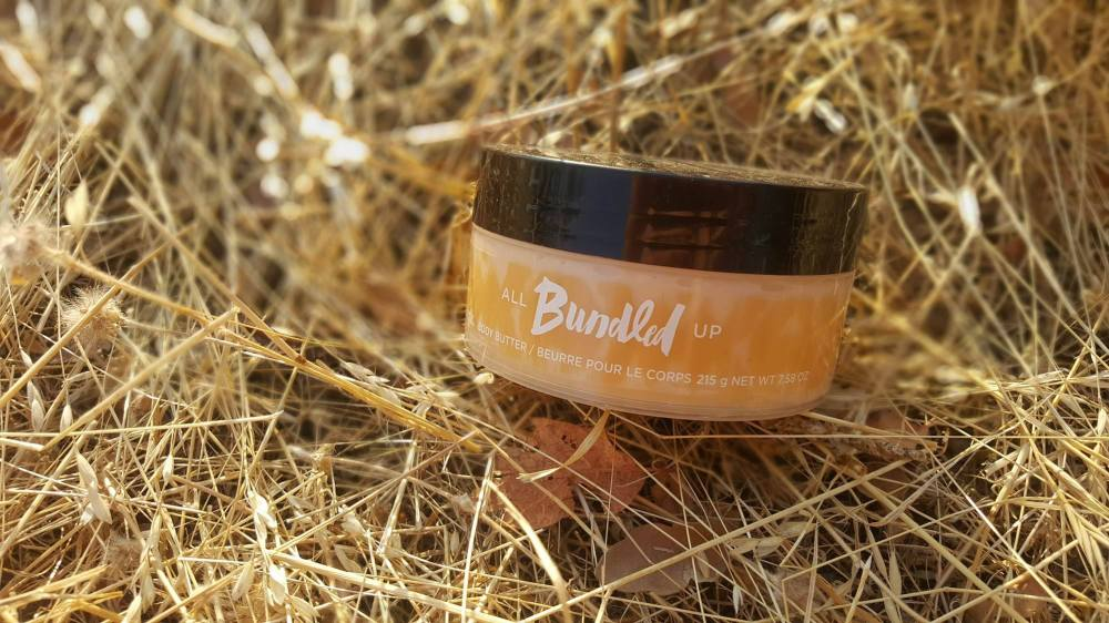 Word On mark. Bundled Up Bath and Body Collection