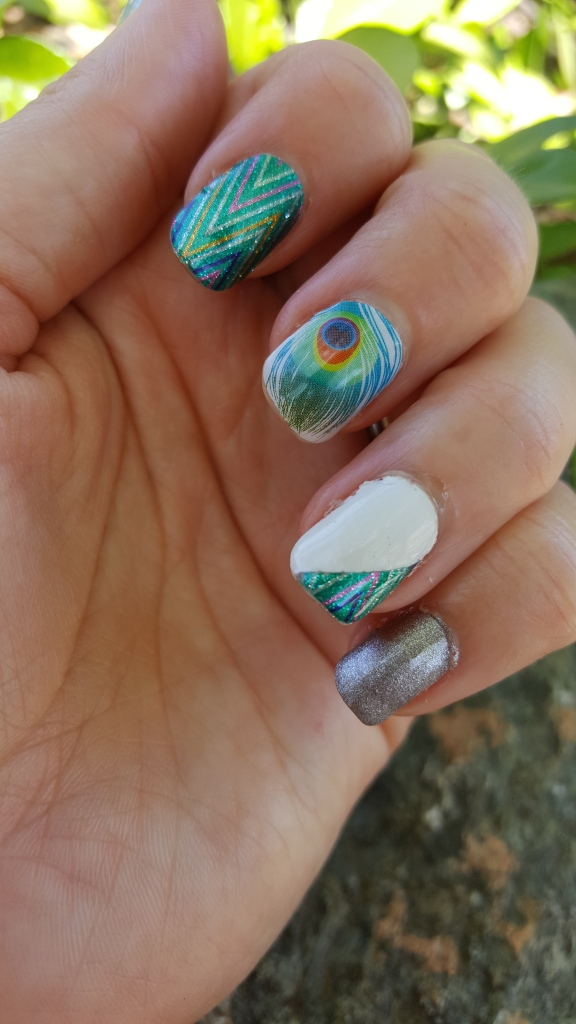 Mani Monday With mark. and Jamberry!